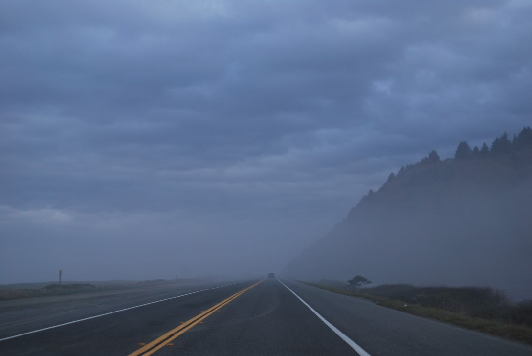 Fog in Northern California