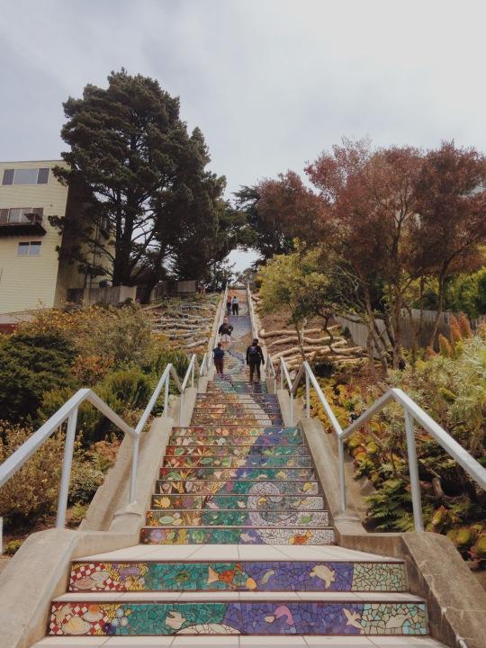 16th Avenue Tile Steps of San Francisco