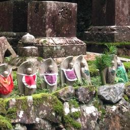 Mount Koya and the Monk Graveyard