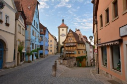Hanging in a Bavarian Fairytale: Rothenburg ob der Tauber